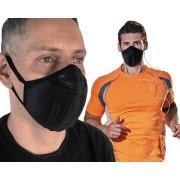 5 Máscaras De Proteção Lavável Anatômica P/ Atividade Física