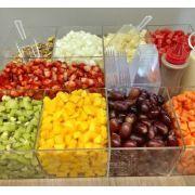 Bandeja / Tabuleiro para Frutas - 10 divisórias