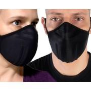 Máscara Reutilizável Proteção Respiratória Lavável Anatômica
