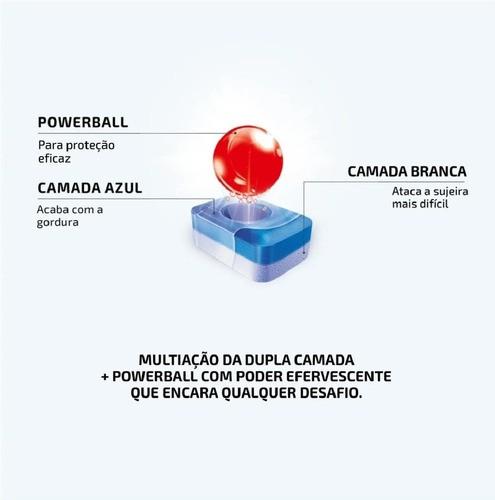 Kit Finish Powerball 2 Tablets + 1 Secante Abrilhantador