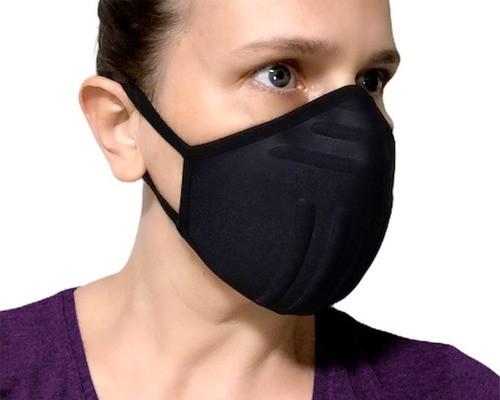 Máscara De Proteção Para Caminhada Tecido Lavável Anatômica