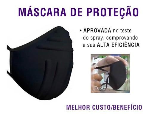 Máscara Lavável Para Esporte Em Tecido - Anatômica