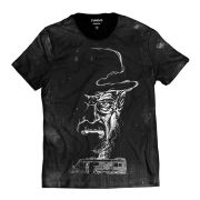 Camiseta Breaking Bad Van Walter White Fumaça