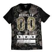 Camiseta Brooklyn Floral 00 Di Nuevo  New York Swag