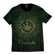 Camiseta Cannabis Marijuana Erva Verde