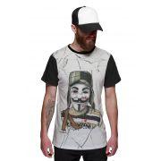 Camiseta Chaves Vendetta V de Vingança White