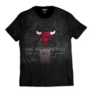 Camiseta Chicago Bulls Basketball Mascote