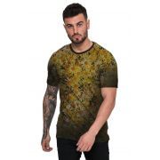 Camiseta Gold Flores Margaridas Amarela Top