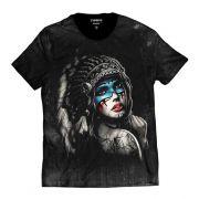 Camiseta Índia Style Masculina Americana