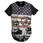 Camiseta Longline Samcro Jax Teller Sons of Anarchy Redwood 1967