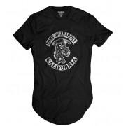 Camiseta Longline Sons Of Anarchy Motociclistas Samcro