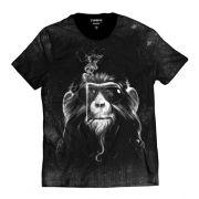 Camiseta Macaco Louco Smoke de Óculos Escuros