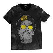 Camiseta Masculina Wiz Khalifa Rap Hip Hop