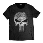 Camiseta O Justiceiro Caveira The Punisher Black