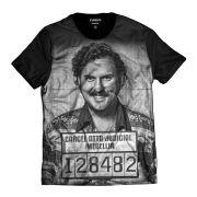 Camiseta Pablo Escobar El Patron Preso Cartel Medelin Masculina