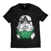 Camiseta Star Wars DMC Stormtrooper Damassaclan Thug Life