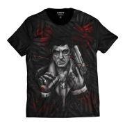 Camiseta Vitor Corleone Poderoso Chefão GodFather Máfia