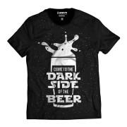 Camiseta Star Wars Dark Sider of Beer Lado Escuro da Cerveja
