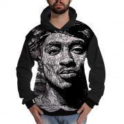 Blusa de Moletom 2Pac Shakur Tupac Rapper Style Hip Hop
