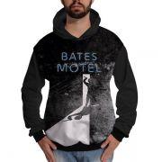 Blusa de Moletom Bates Motel Norman Panic Psico