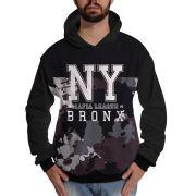 Blusa de Moletom Bronx New York Mafia Camuflada Swag
