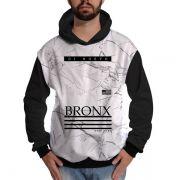 Blusa de Moletom New York Bronx Branca Di Nuevo