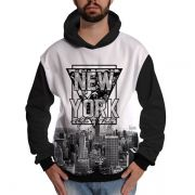Blusa de Moletom New York Rappers Hip Hop NY Exclusiva