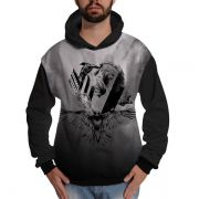Blusa de Moletom Vikings Ragnar Lothbrok Exclusiva