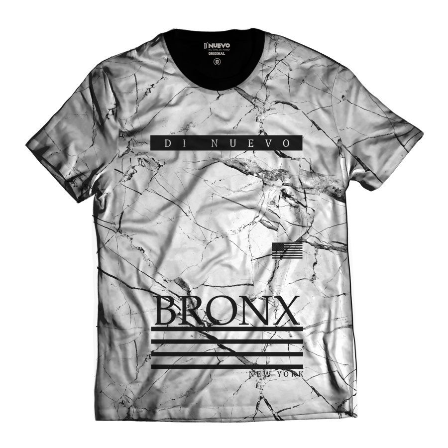 Camisa New York Bronx Branca Di Nuevo