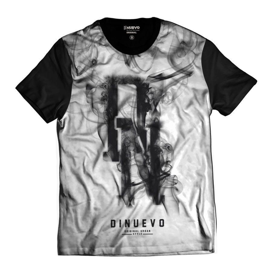 Camisa Smoke Preta e Branca Swag