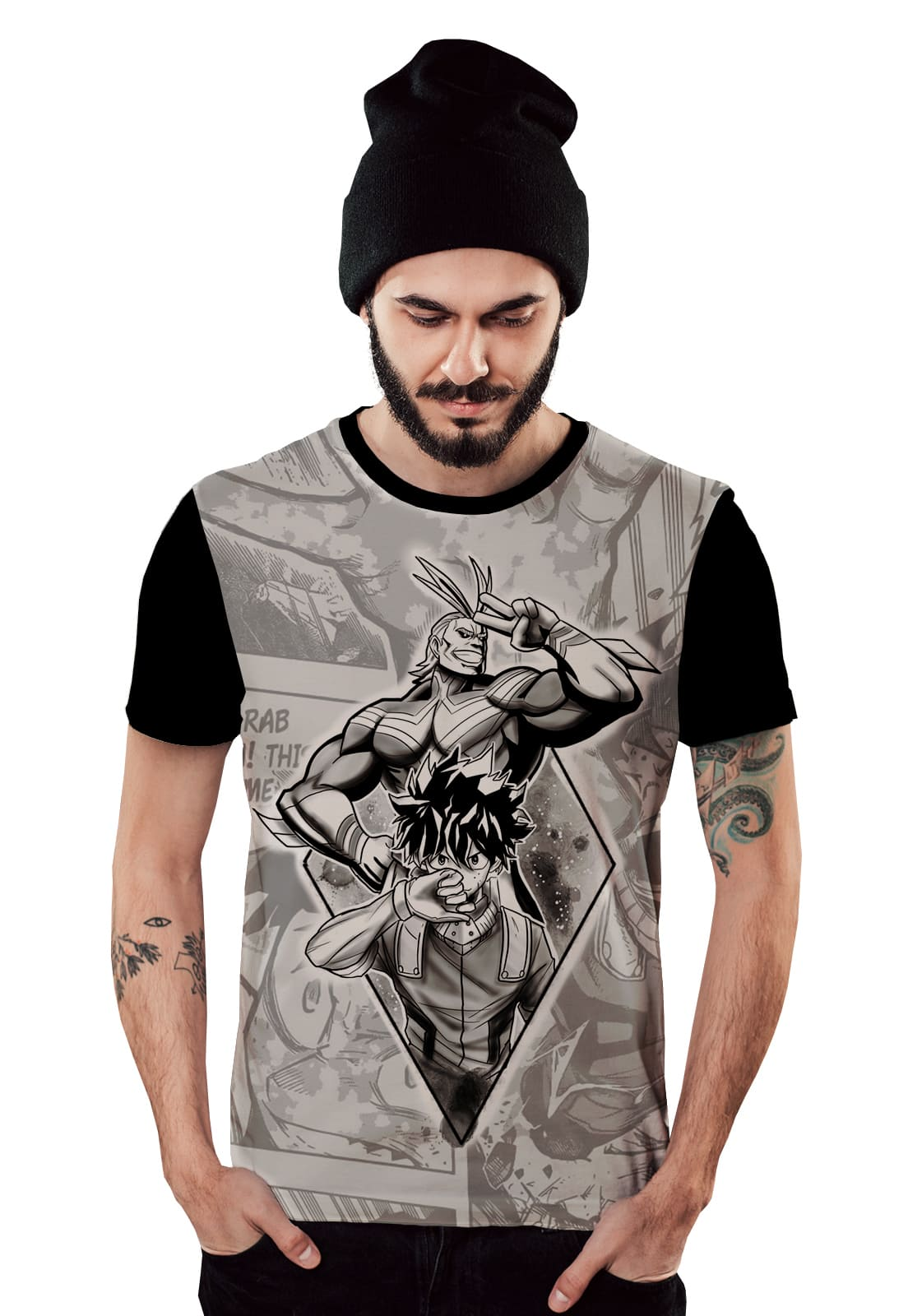 Camiseta Boku no Hero Academia My Hero