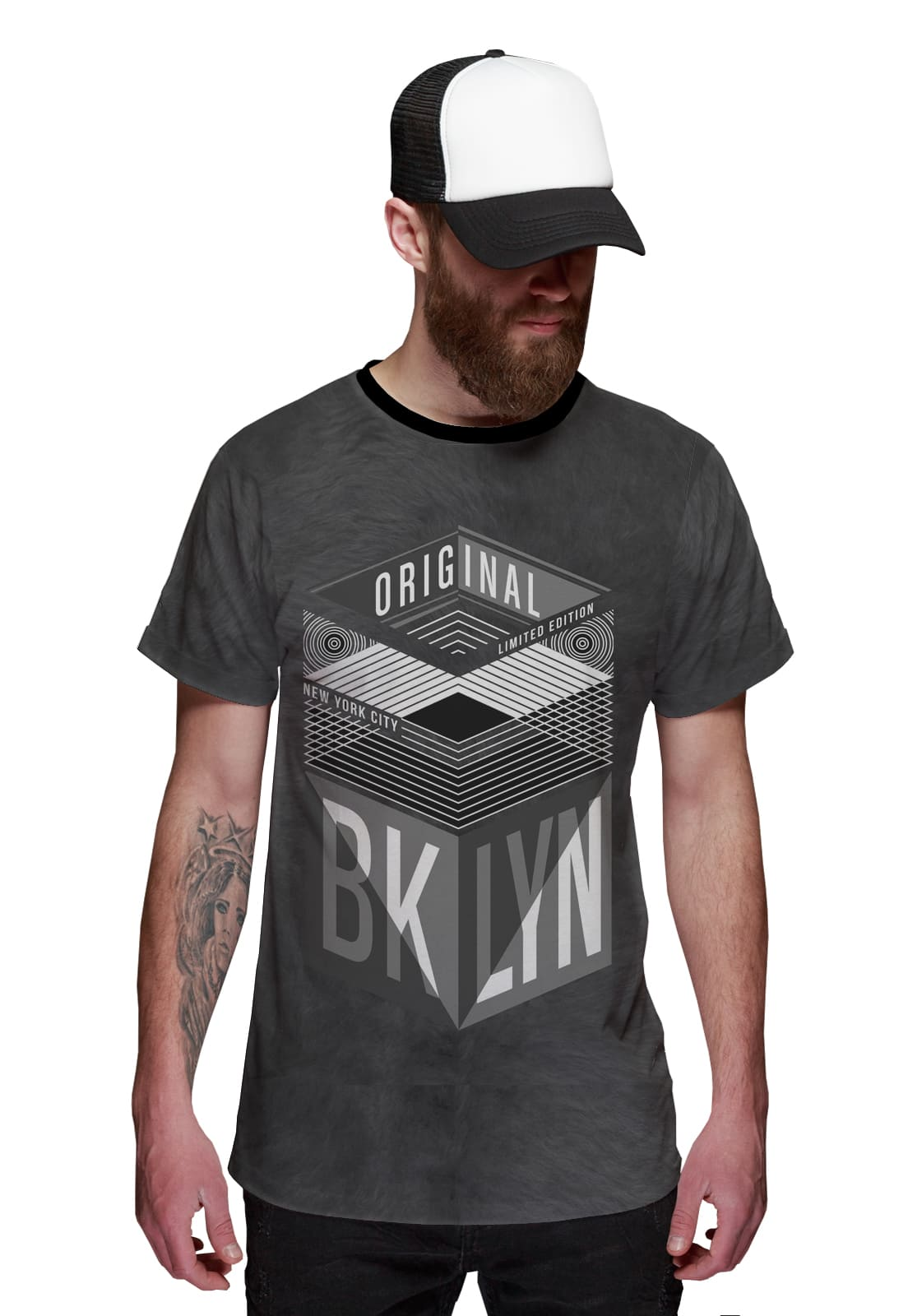 Camiseta Brooklyn Original New York Ilimitada NY
