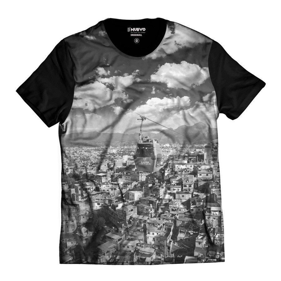 Camiseta Complexo do Alemão Morro do Alemão Masculina