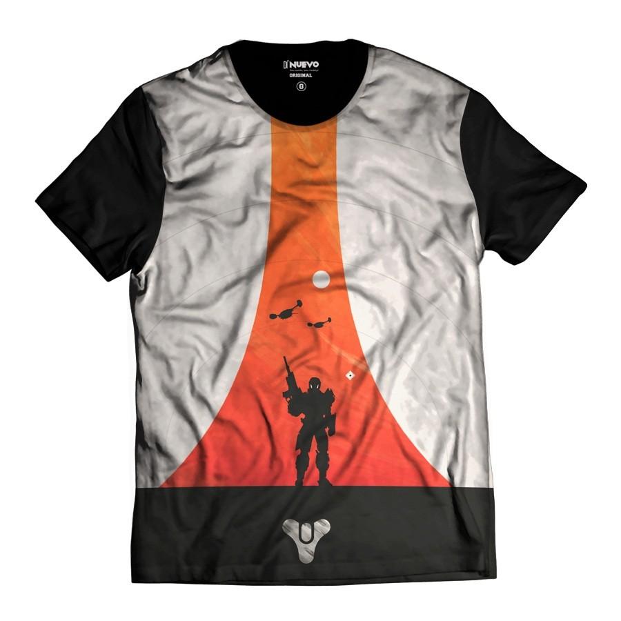 Camiseta Game Destiny Titan Guardião e Fantasma 9e0f53b4d04