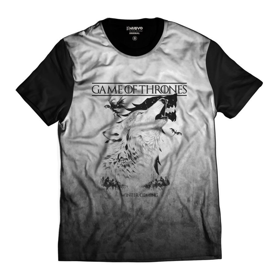 Camiseta GOT Game of Thrones Winter Coming