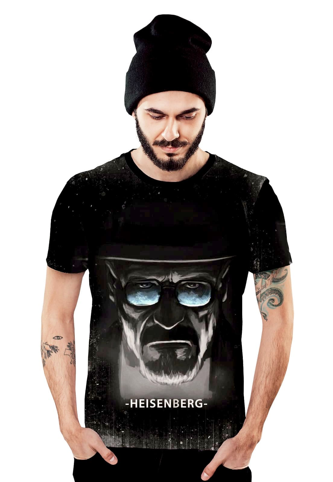 Camiseta Heisenberg Walter White Breaking Bad