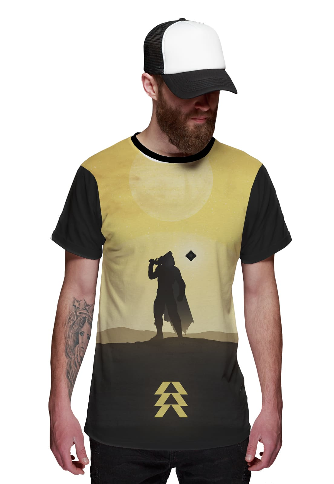 Camiseta Hunter Destiny Caçador e Fantasma Game