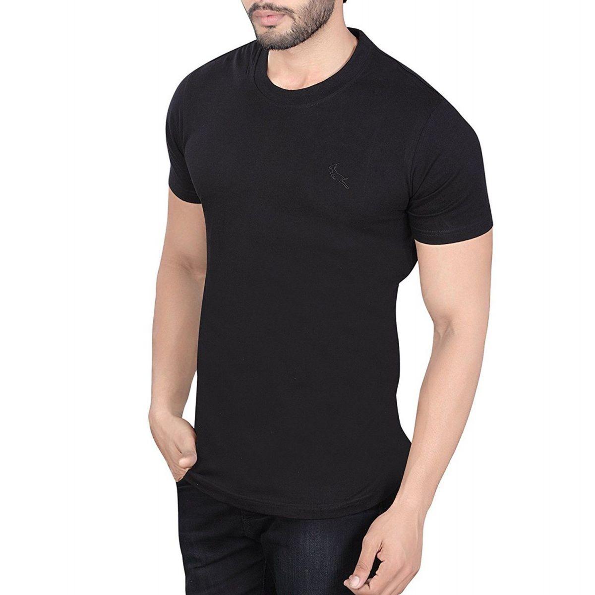 Camiseta Masculina Básica Lisa Moderna