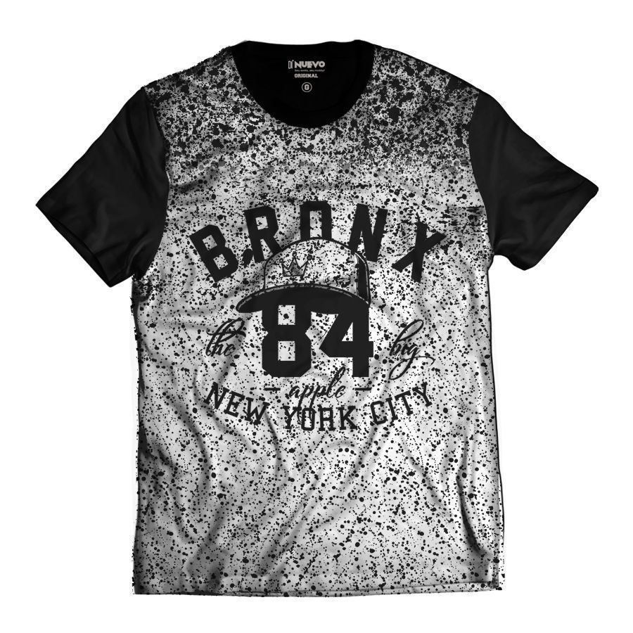 Camiseta Masculina New York Bronx City 84 Big NY