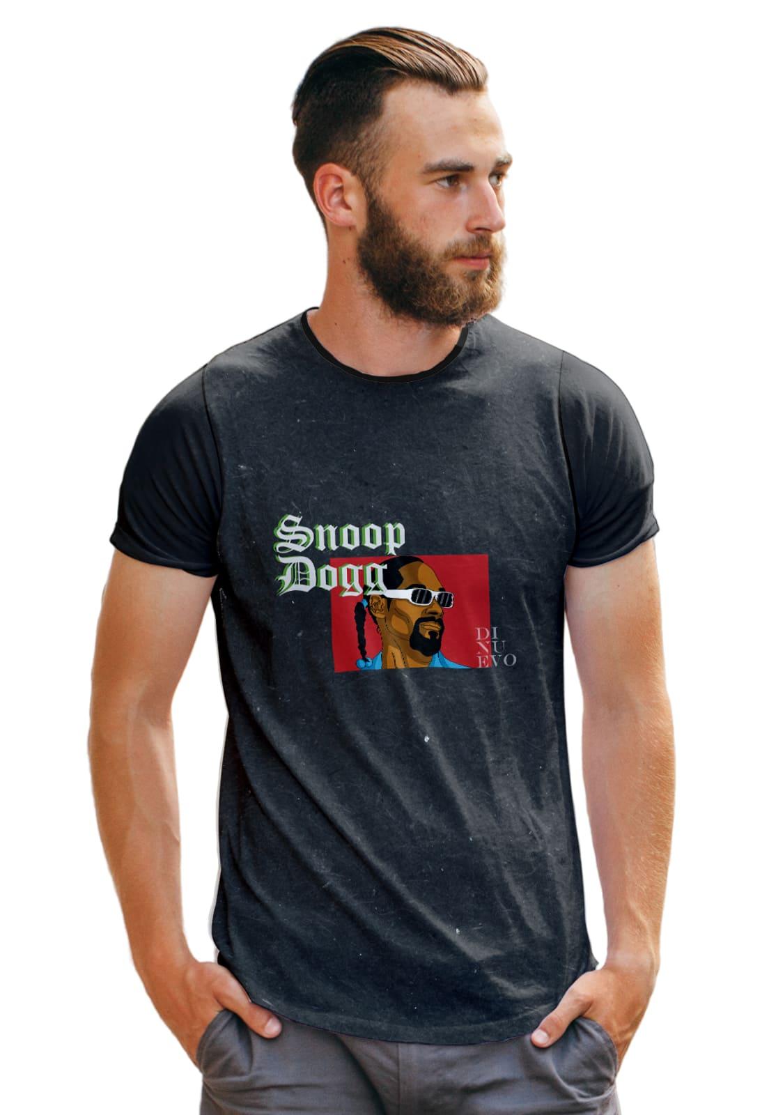Camiseta Masculina S Dog Draw Rapper