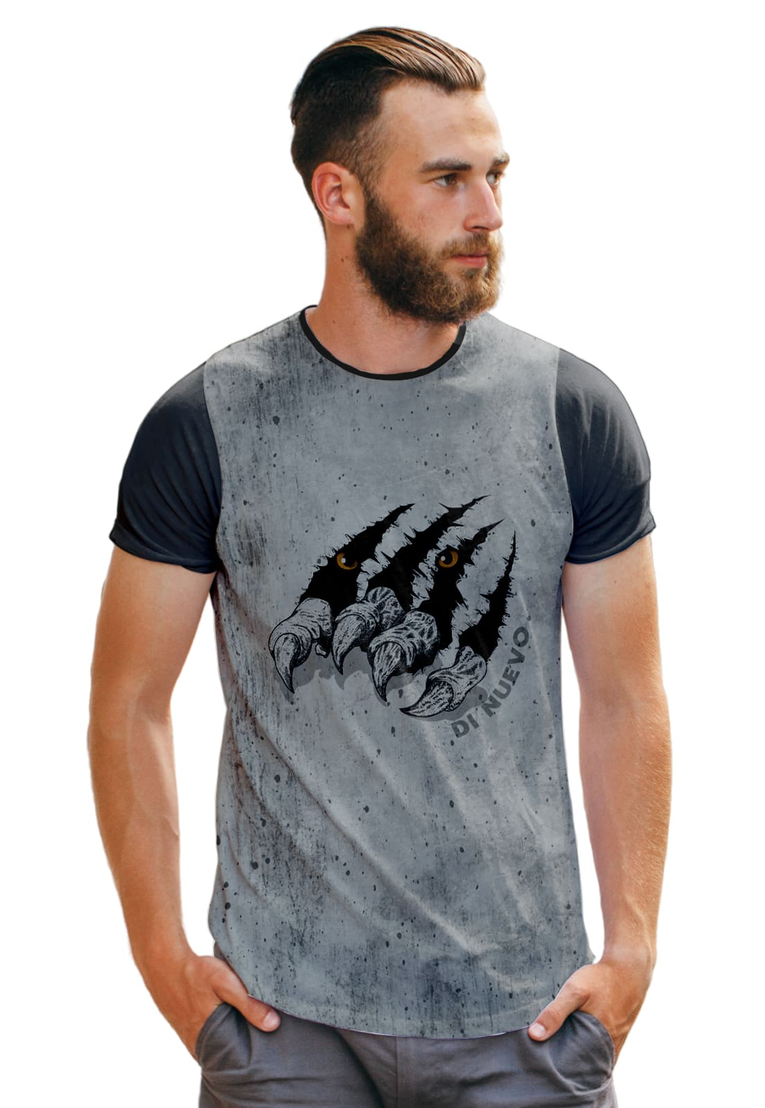 Camiseta Monster Selva Garra Animal