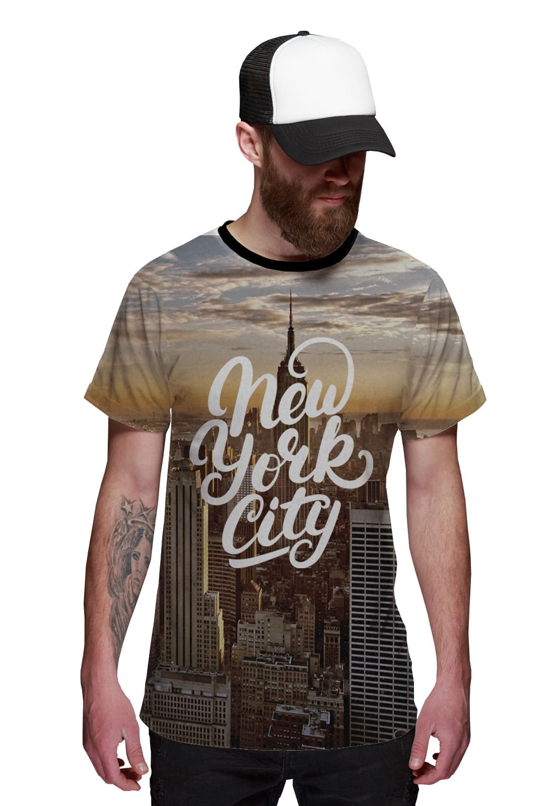 Camiseta New York City  Empire State