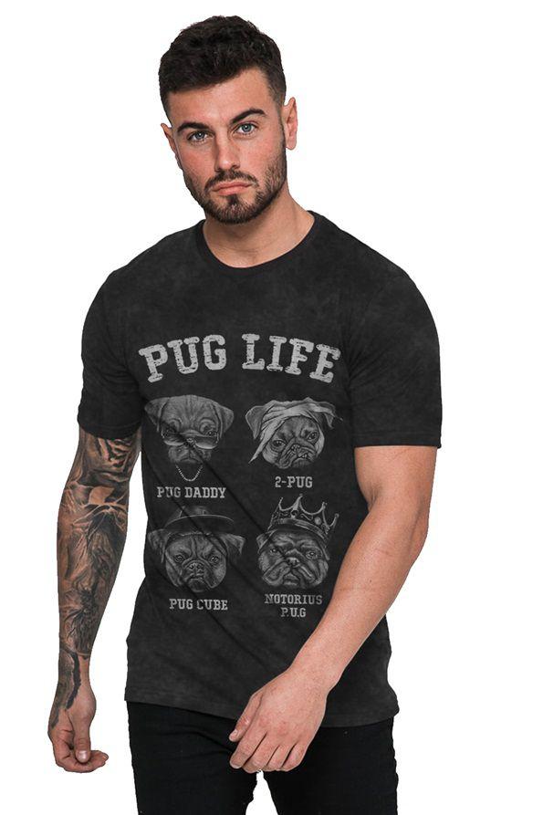 Camiseta Pug Life Rap Hip Hop