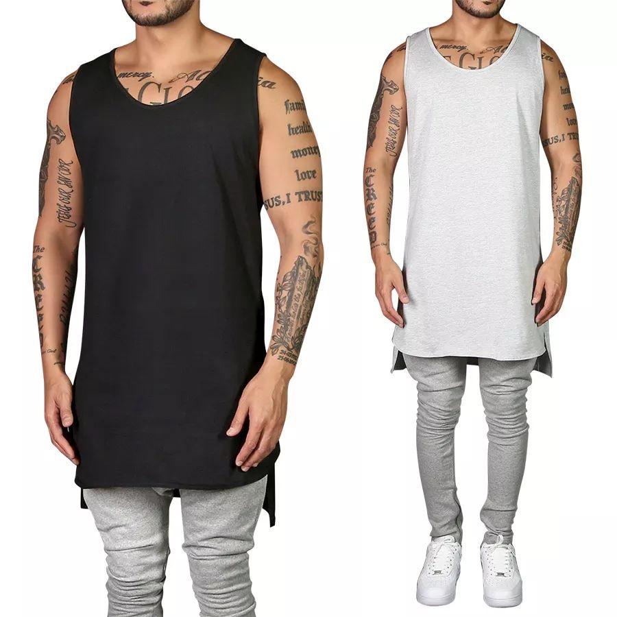 d2c111fccf343 Camiseta Regata Swag Lisa Longline Style