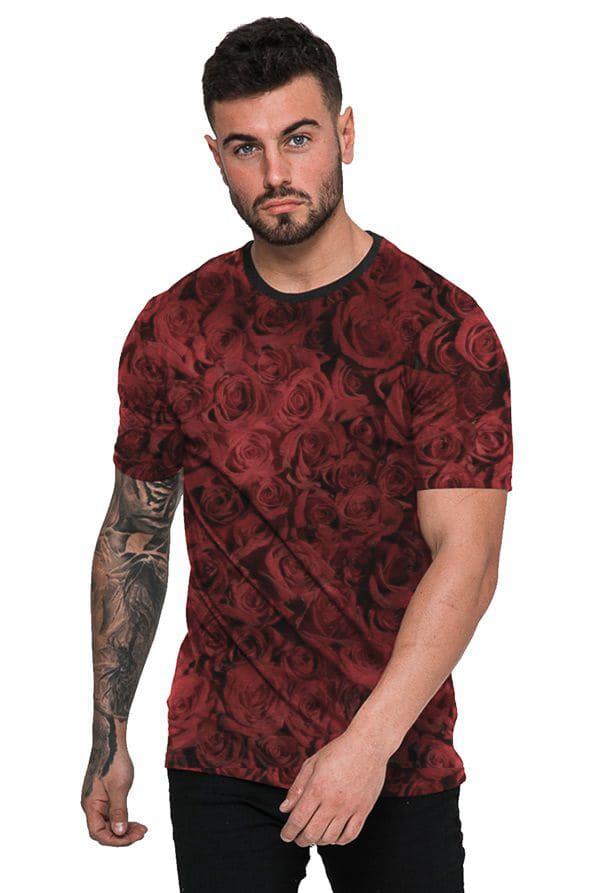 Camiseta Rosas Vermelhas Red Roses Flowers