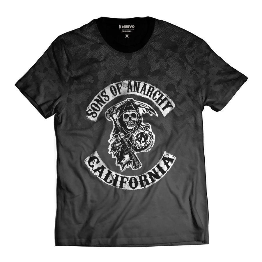 Camiseta Sons Of Anarchy Motociclistas Samcro