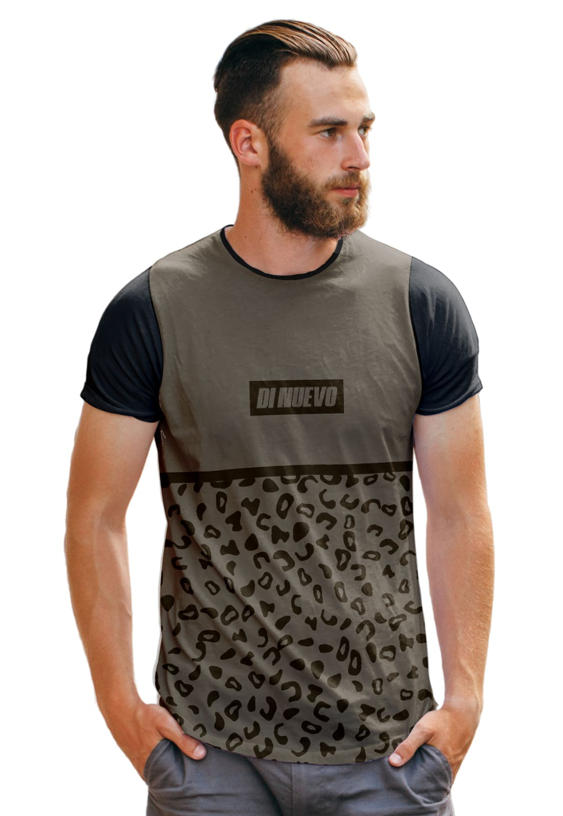 Camiseta Street Wear Onça Pintada Pantera Basic