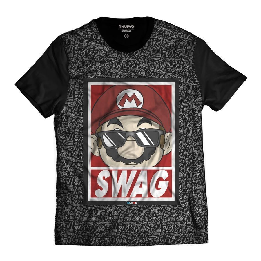 Camiseta Gamer Swag Geek Thug Life