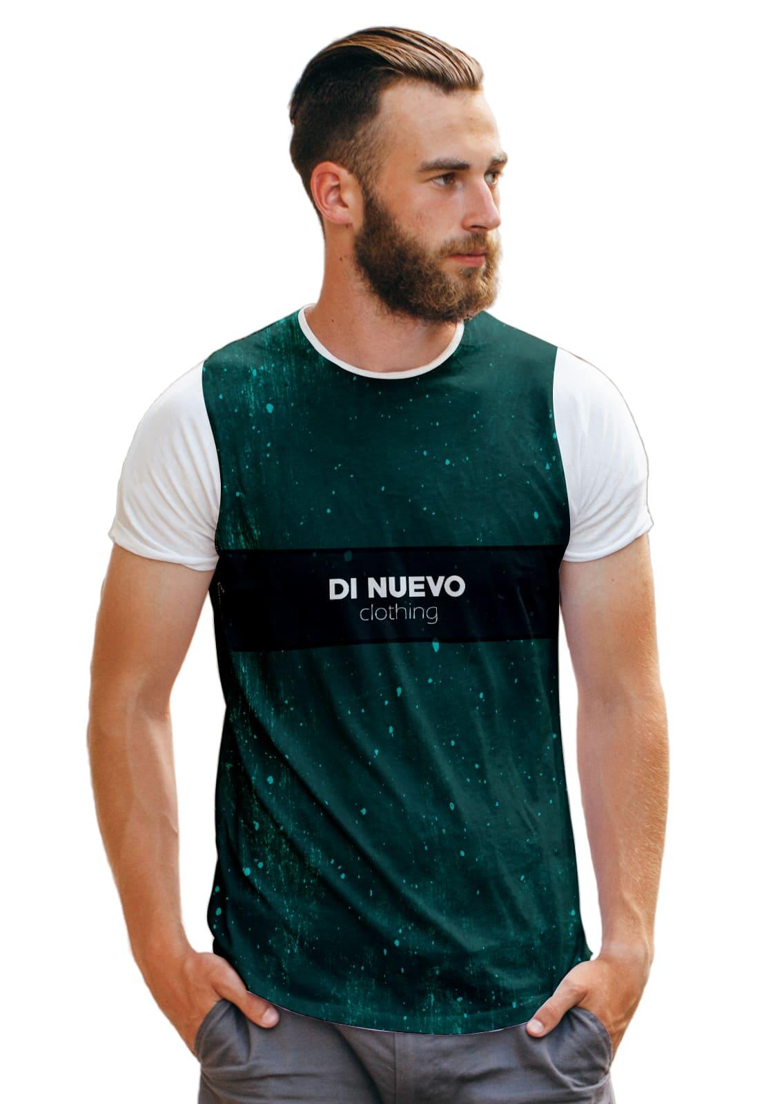 Camiseta Trap Style Di Nuevo Clothing Green