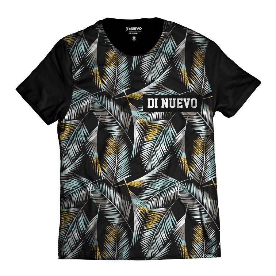 Camiseta Penas Douradas Verão Rio Street Wear